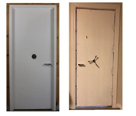 Fema door safe room door fact sheet page 002 sc 1 for Residential back doors