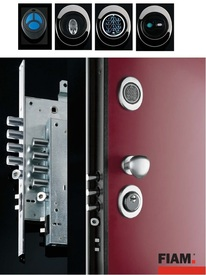 High Security doors with key pad entry