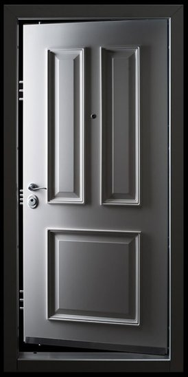 High Security Entry Doors : Forced entry resistant high security doors