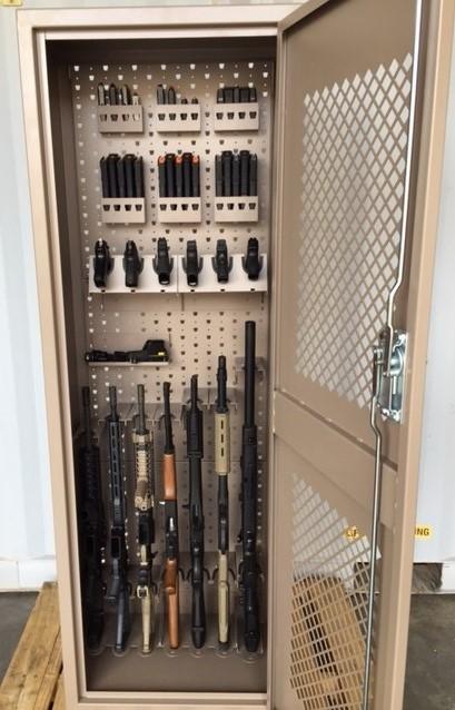 Secure Weapons Storage Cabinets Gun Lockers Gss Doors